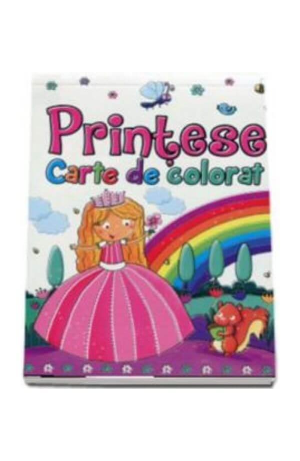 Printese. Carte de colorat
