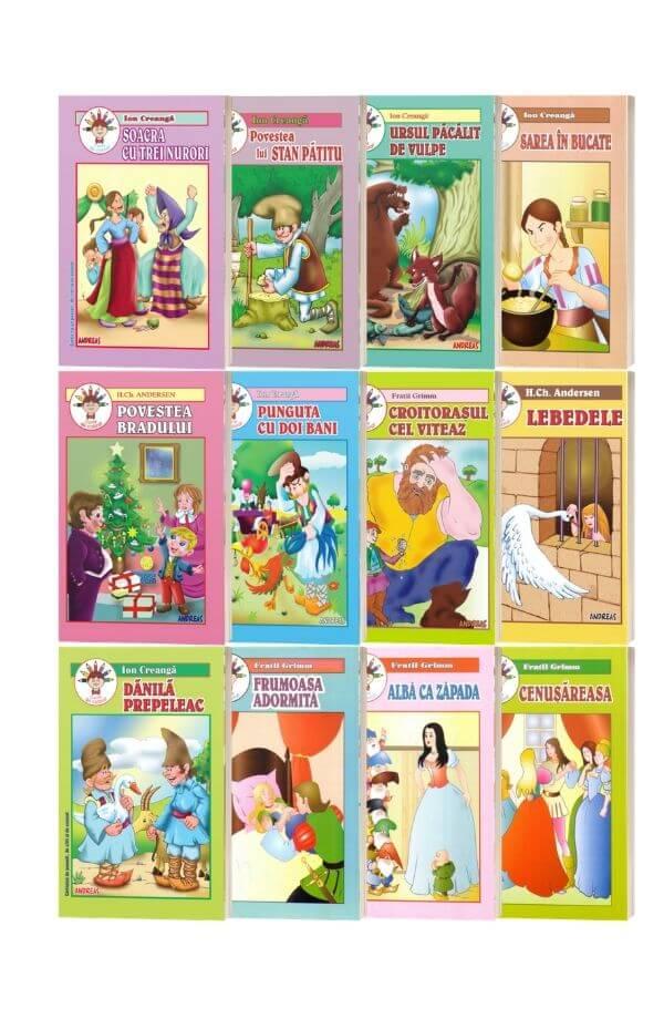 Pachet  12 carti de colorat