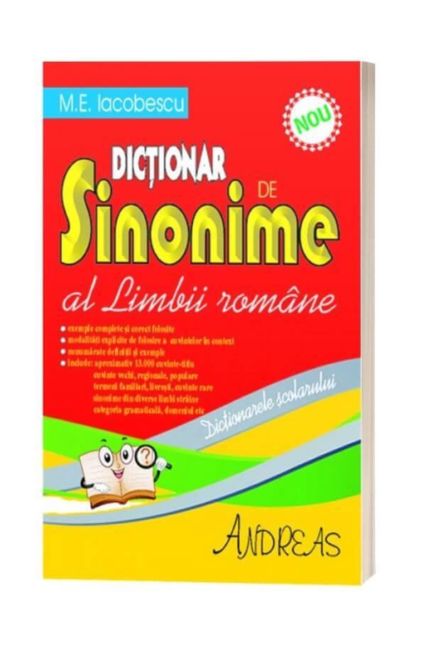 Dictionar de Sinonime al Limbii Romane - M.E. Iocobescu