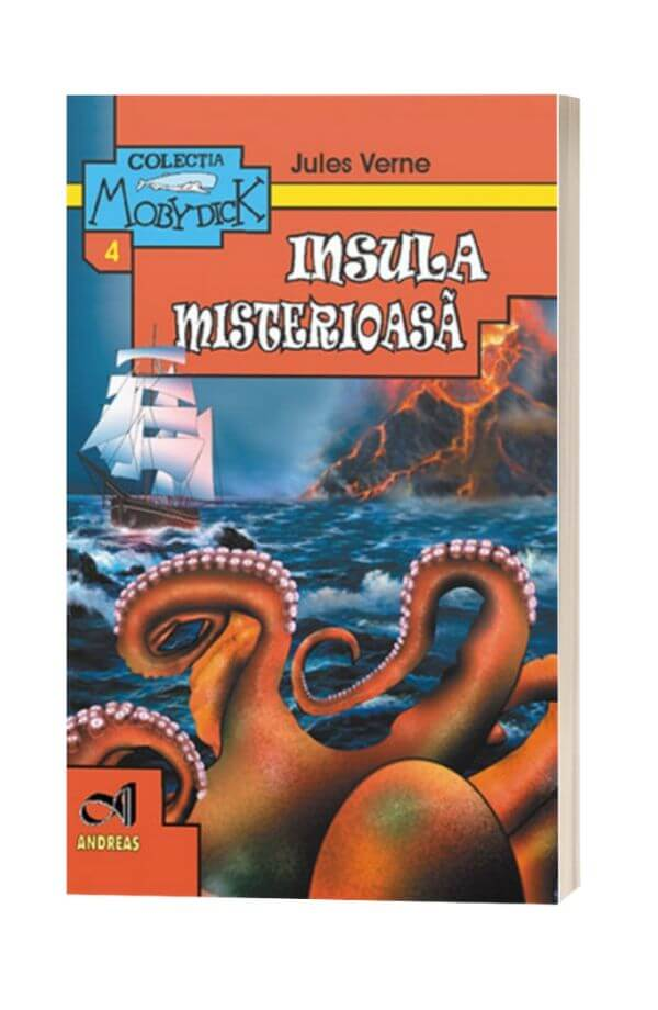 Insula misterioasa - Jules Verne