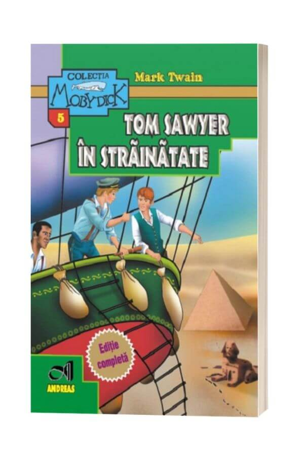 Tom Sawyer in strainatate - Mark Twain