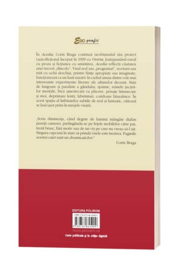 Acedia. Jurnal de vise - Corin Braga