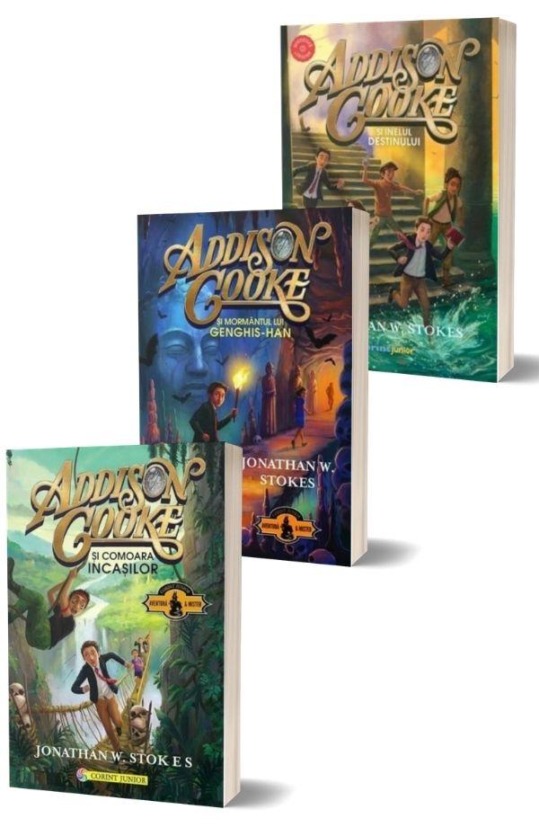 Pachet Addison Cooke (3 vol.) - Jonathan W. Stokes