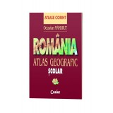 Atlas geografic scolar. Romania - Octavian Mandrut