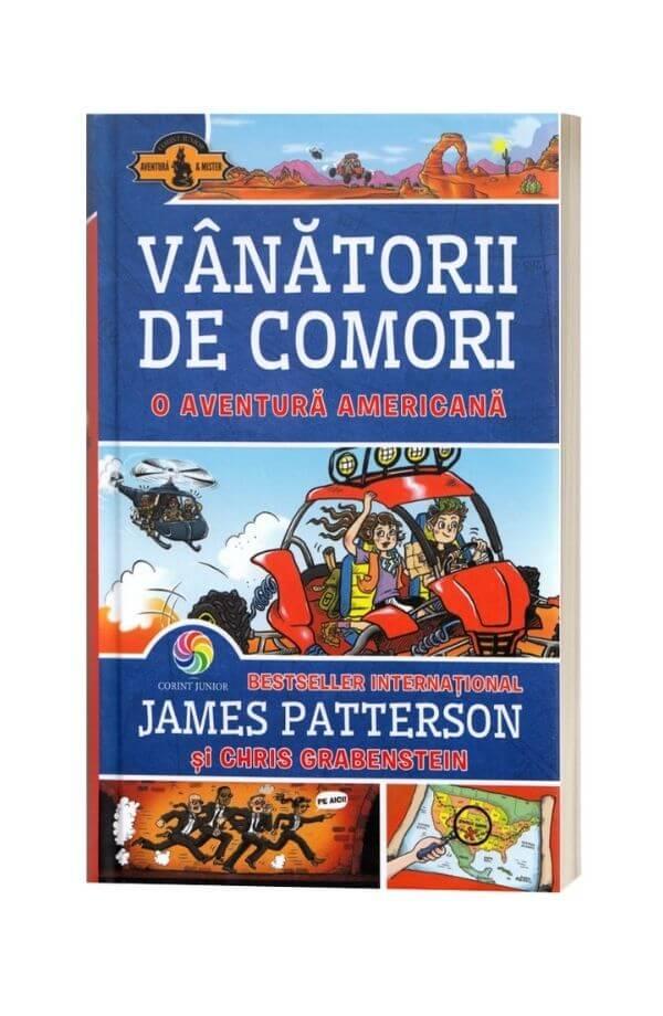 Vanatorii de comori Vol.6: O aventura americana - James Patterson, Chris Grabenstein