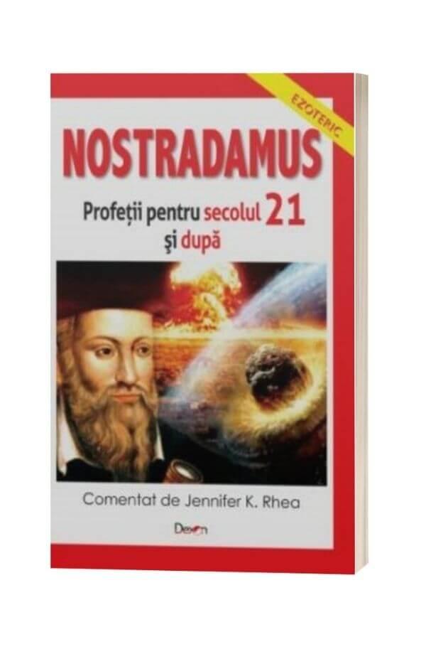 Nostradamus. Profetii sec. 21 si dincolo - Jennifer K. Rhea