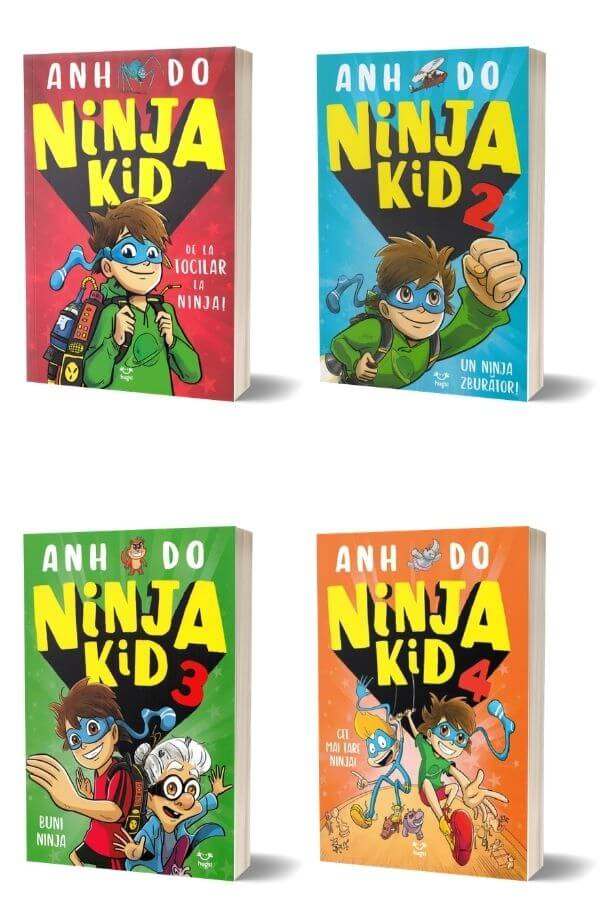 Pachet Ninja Kid - Anh Do