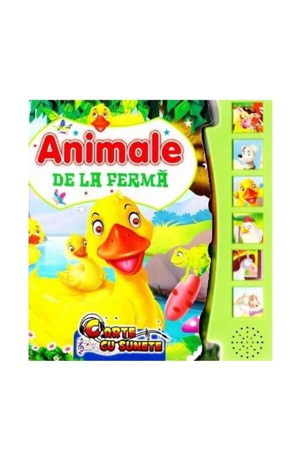 Animale de la ferma - carte cu sunete