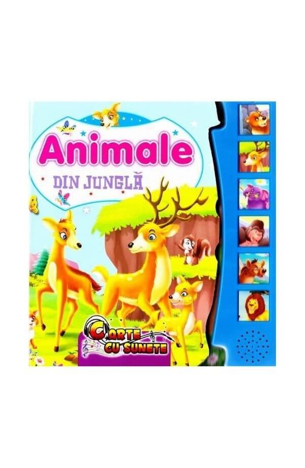 Animale din jungla - carte cu sunete