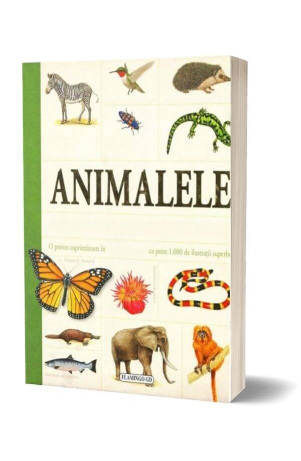 Animalele - enciclopedie pentru copii