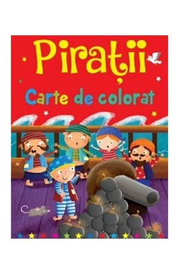 Carte de colorat - Piratii