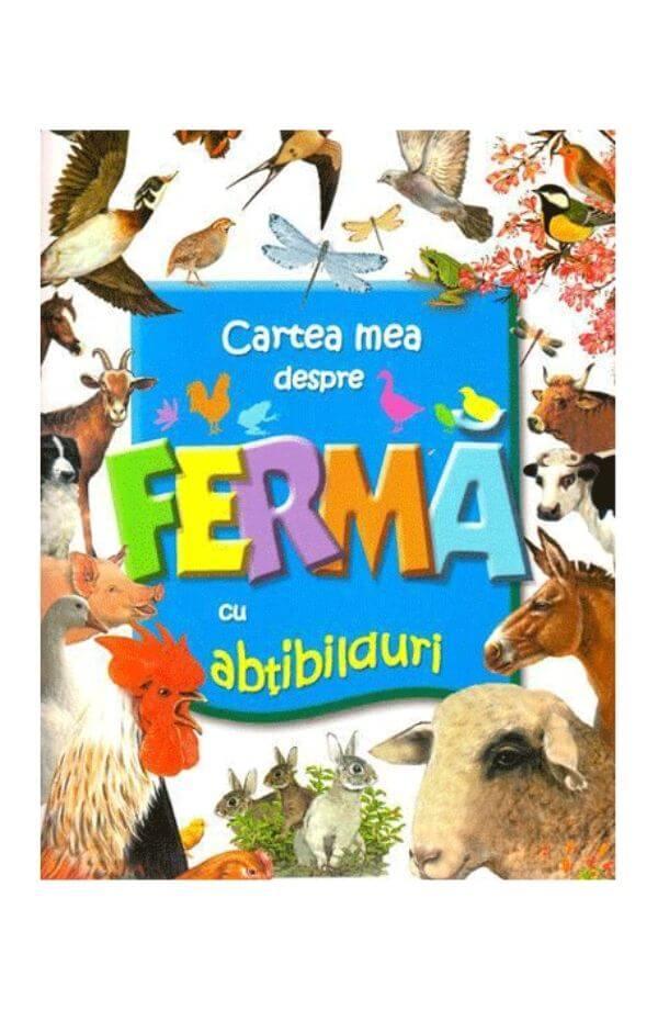 Cartea mea despre ferma cu abtibilduri