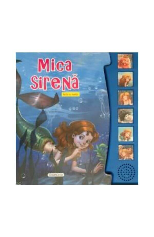 Mica Sirena - Carte cu sunetev