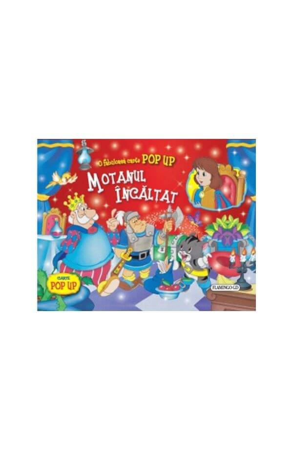 Motanul incaltat - carte Pop Up