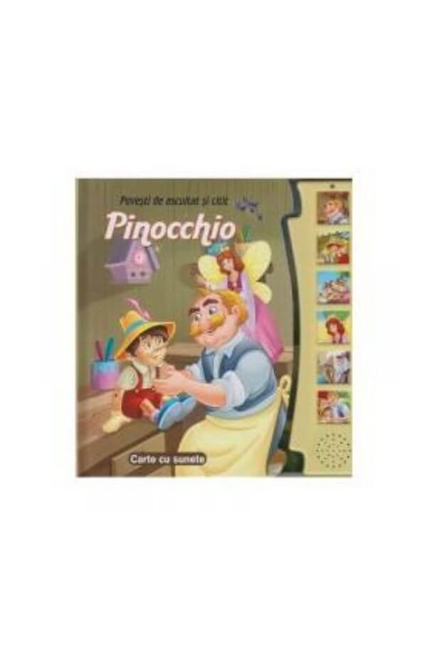 Pinocchio - carte cu sunete