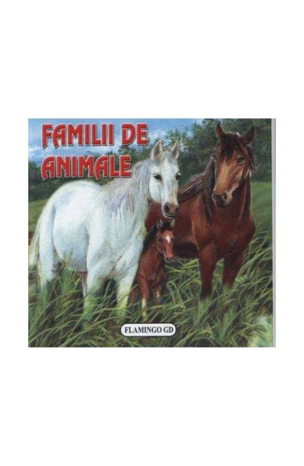 Familii de animale - pliant cartonat