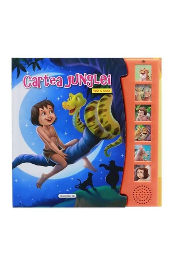 Cartea junglei - Carte sunete