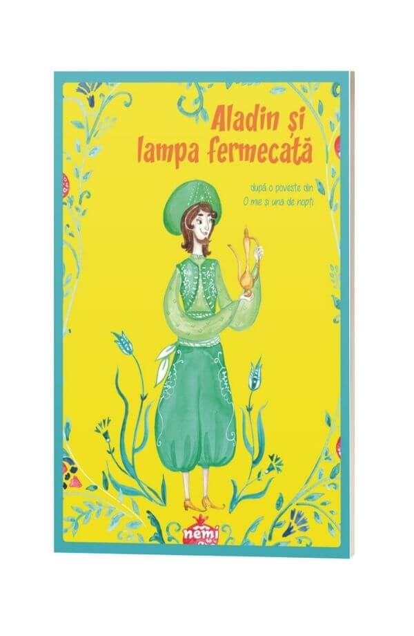 Aladin si lampa fermecata - Adaptare de Veronica D. Niculescu