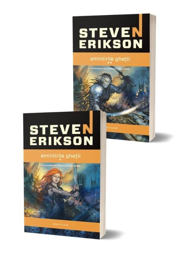 Amintirile ghetii - Steven Erikson ( 2 volume )