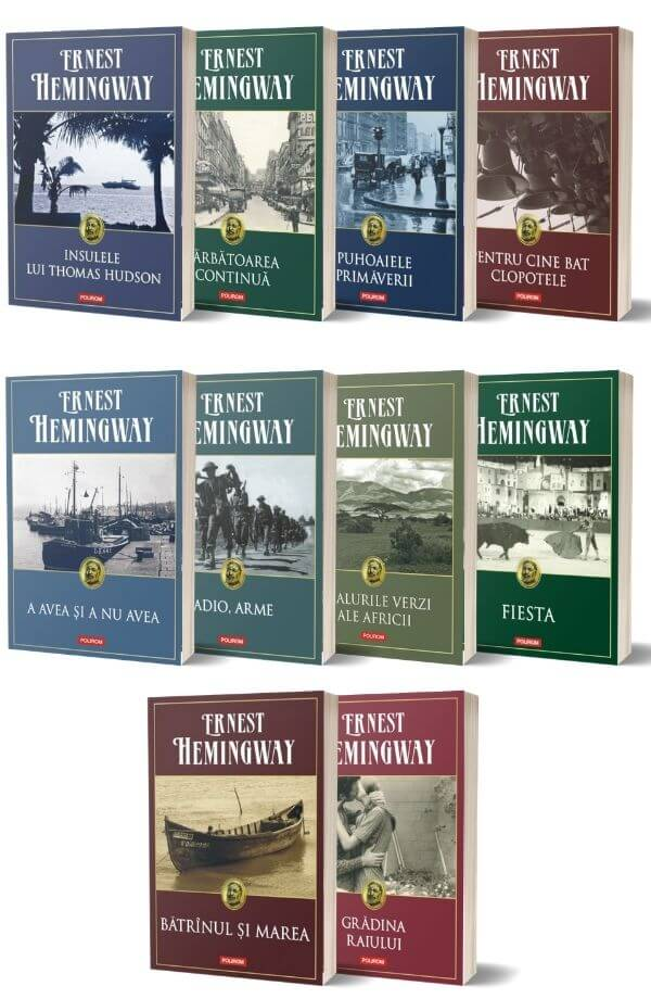 Pachet Ernest Hemingway