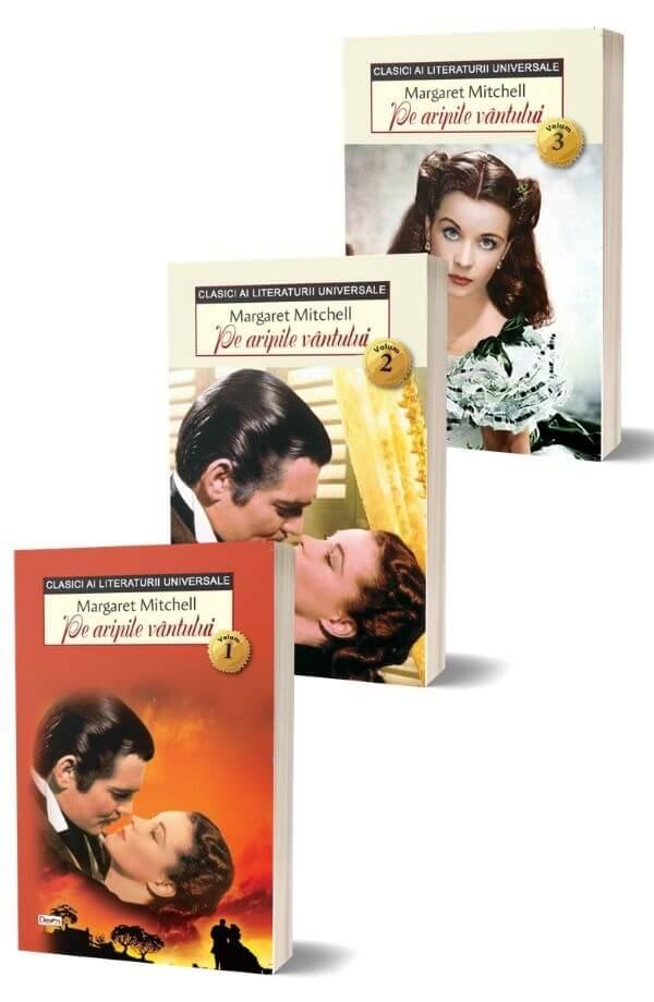 Pe aripile vantului - Margaret Mitchell (3 vol.)