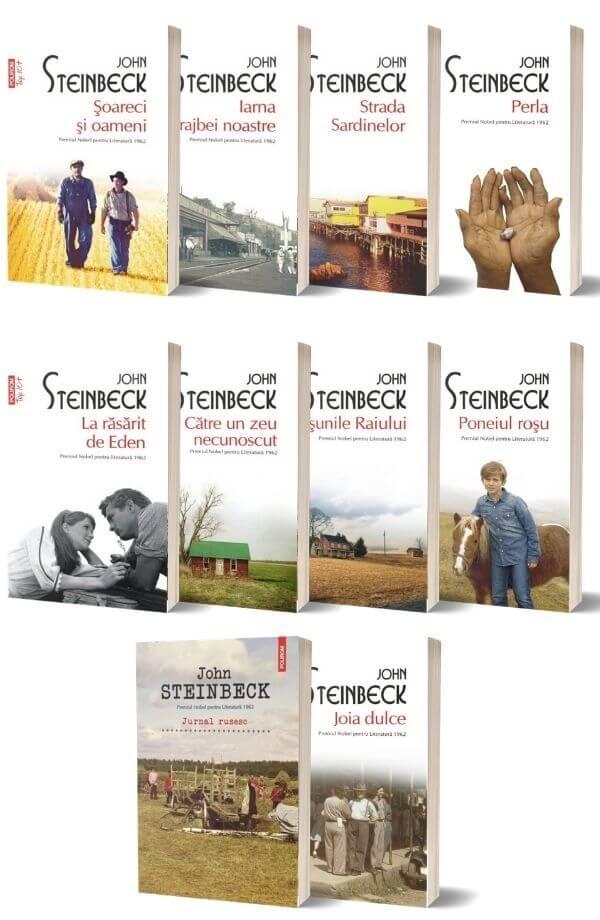 Pachet John Steinbeck
