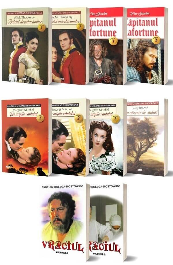 Pachet Lecturi pentru vacanta - 10 Volume