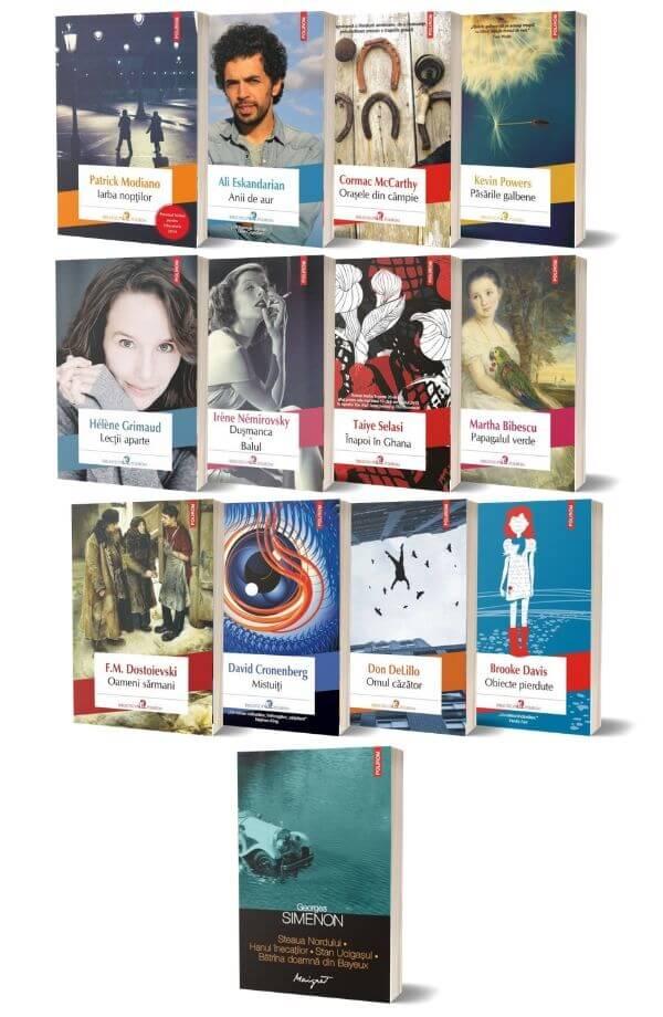 Pachet Biblioteca Polirom ( 12 carti + carte cadou )
