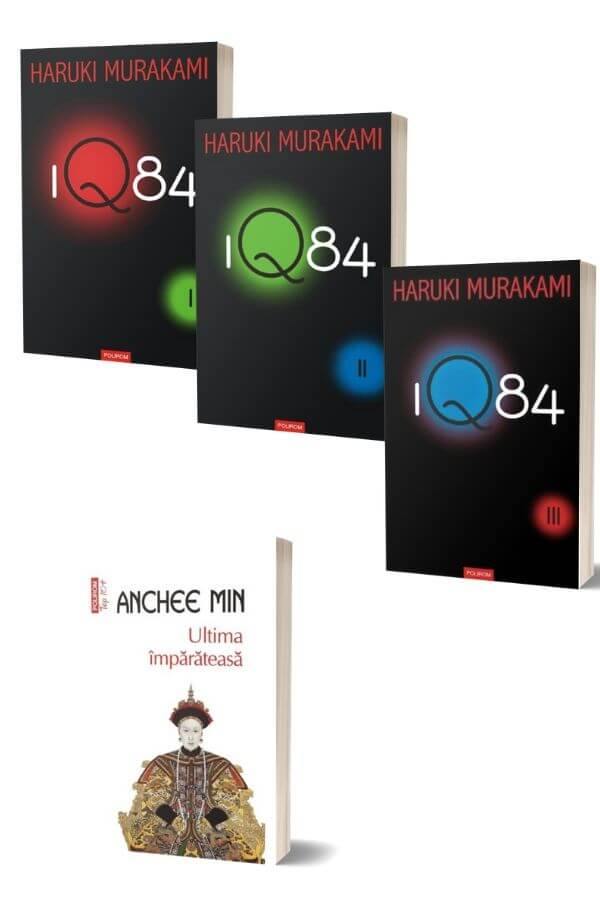 Pachet 1Q84 (I) - Haruki Murakami + Ultima imparateasa - Anchee Min