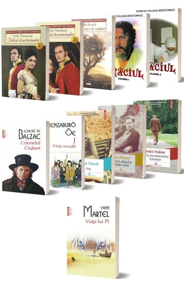 Pachet Lecturi pentru vacanta (10 carti + carte cadou)