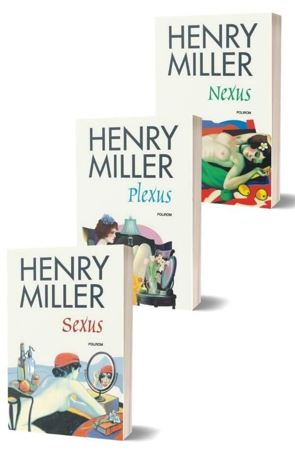 Pachet Henry Miller ( Rastignirea trandafirie )