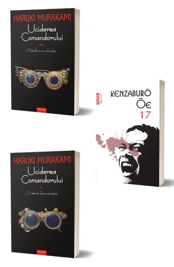 Pachet Uciderea Comandorului - Haruki Murakami + 17 - Kenzaburo Oe