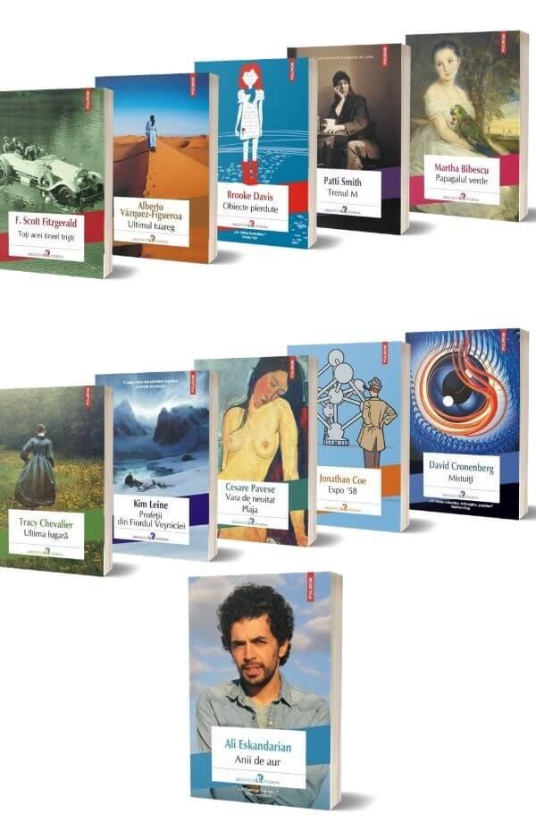 Pachet Biblioteca Polirom ( 10 carti + carte cadou )