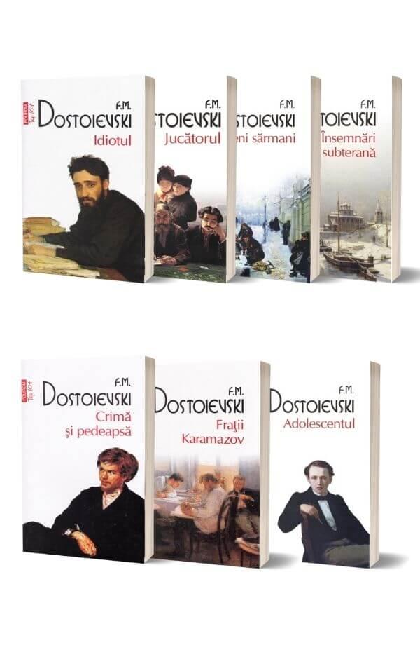 Pachet F.M. Dostoievski