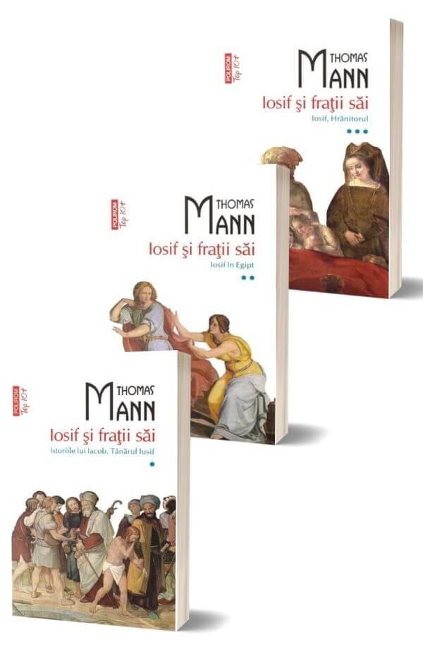 Pachet Iosif si fratii sai - Thomas Mann (3 vol) Top 10