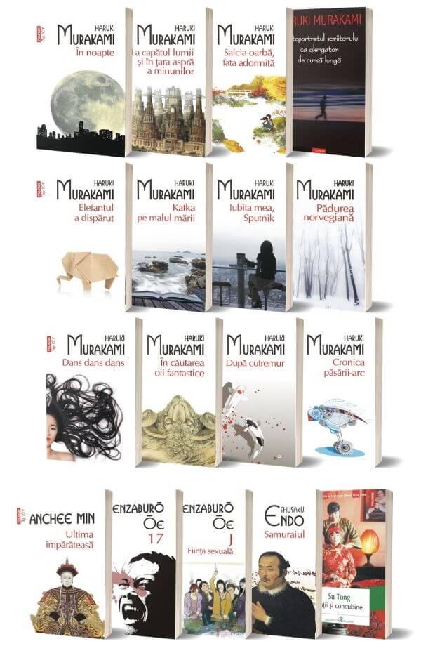 Pachet Haruki Murakami + Pachet literatura japoneza