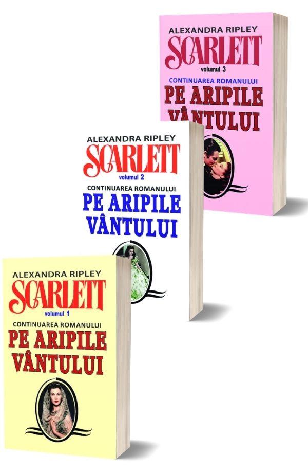 """Scarlett. Continuare a romanului """"Pe Aripile Vantului"""" . Alexandra Ripley (3 vol.)"""