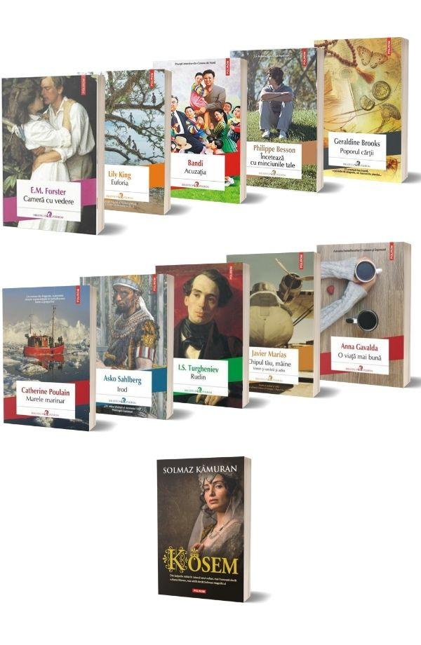 Pachet Biblioteca Polirom (10 carti + carte cadou)