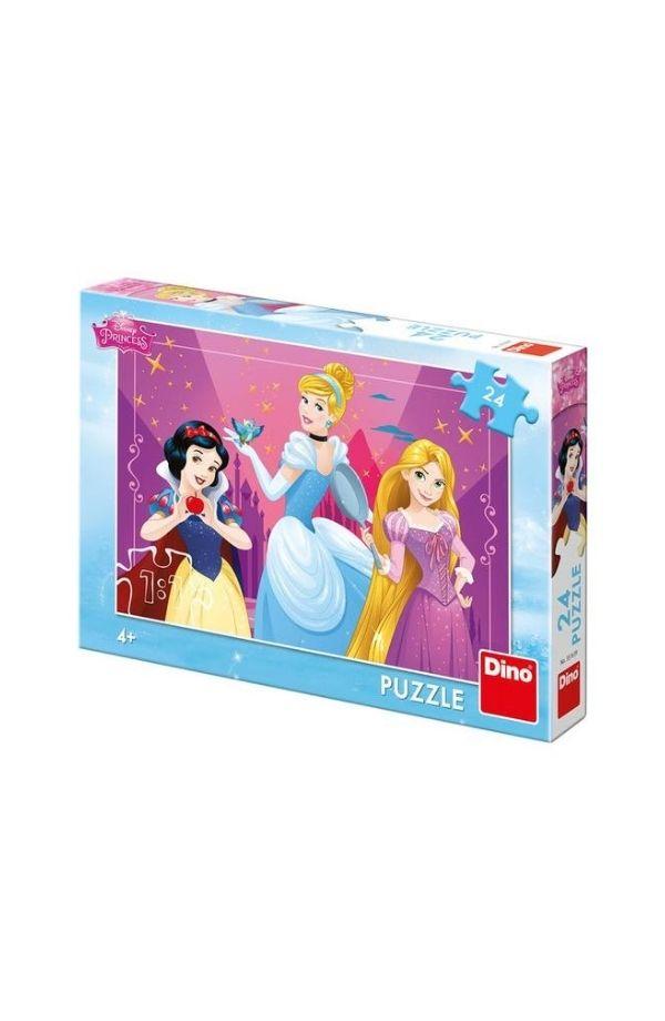 Puzzle - PRINTESE CURAJOASE 24 PCS