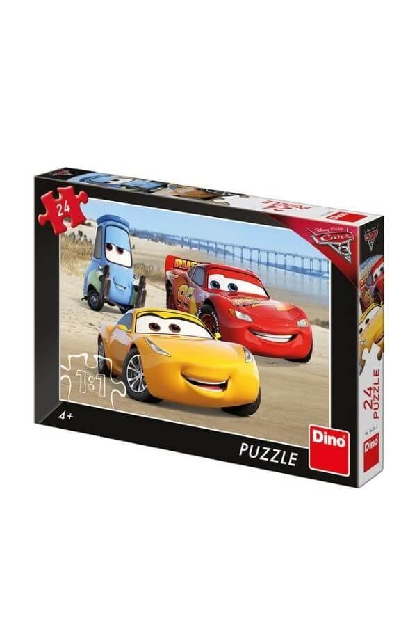 Puzzle - CARS 3: PE PLAJA 24 PCS