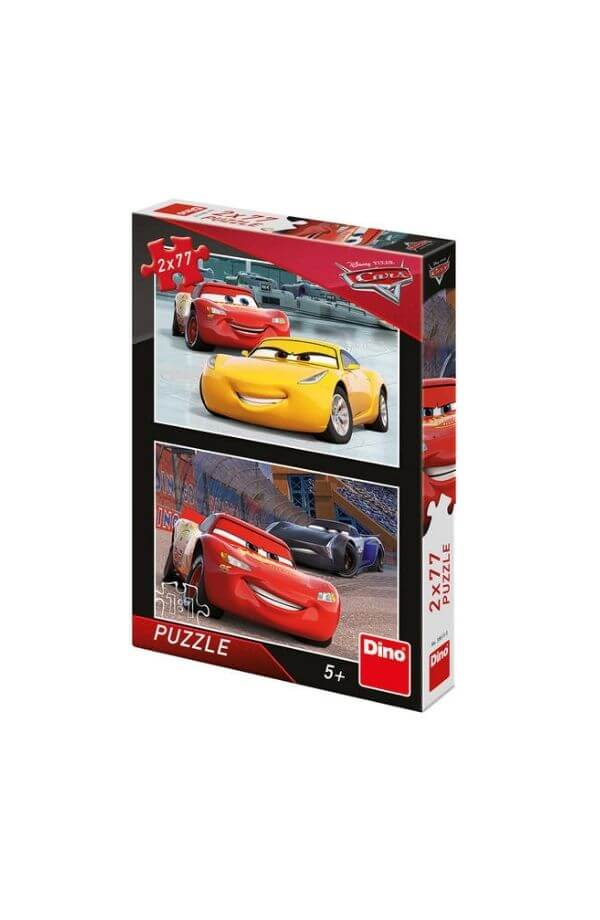 Puzzle 2 in 1 - CARS3-RACERS (2 x 77)