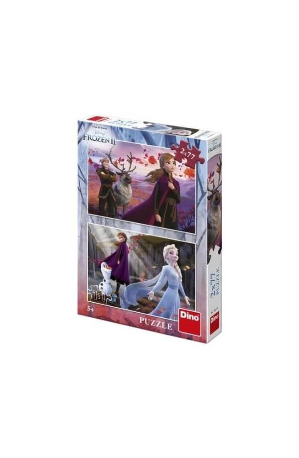 Puzzle 2 in 1 -Frozen II (2 x 77)