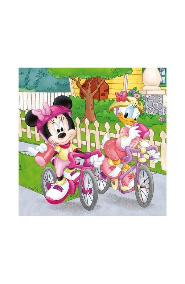 Puzzle 3 in 1 - MICKEY AND MINNIE ATLETI (3 x 55)
